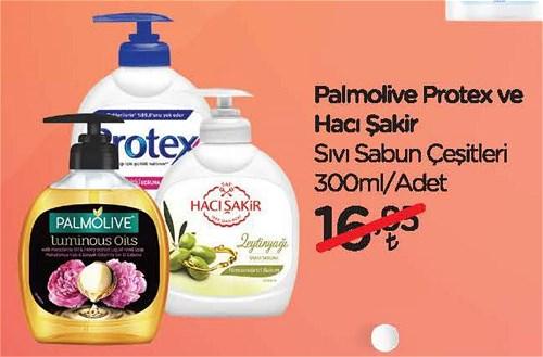 Palmolive Protex ve Hac Şakir Sıvı Sabun Çeşitleri 300 ml image