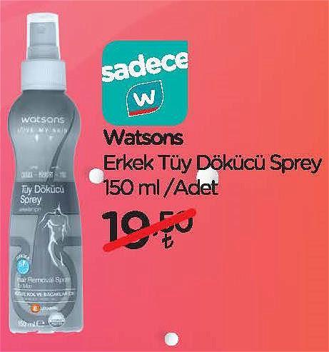 Watsons Erkek Tüy Dökücü Sprey 150 ml image