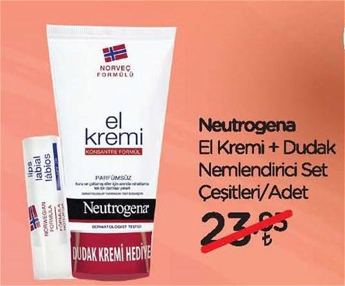 Neutrogena El Kremi+Dudak Nemlendirici Set Çeşitleri/Adet image