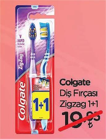 Colgate Diş Fırçası Zigzag 1+1 image
