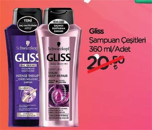 Gliss Şampuan Çeşitleri 360 ml image