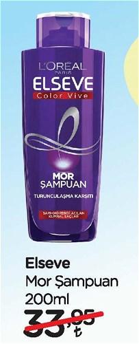Elseve Mor Şampuan 200 Ml image