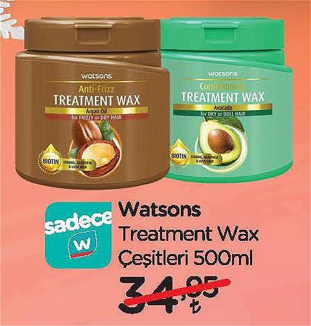 Watsons Treatment Wax Çeşitleri 500 ml image