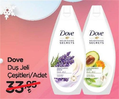 Dove Duş Jeli Çeşitleri/Adet image