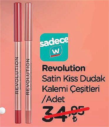 Revolution Satin Kiss Dudak Kalemi Çeşitleri/Adet image