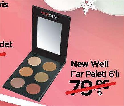 New Well Far Paleti 6'lı image