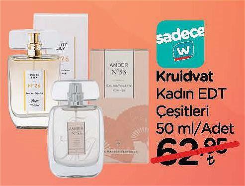 Kruidvat Kadın Edt Çeşitleri 50 ml image