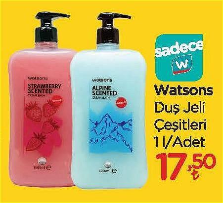 Watsons Duş Jeli Çeşitleri 1 l image