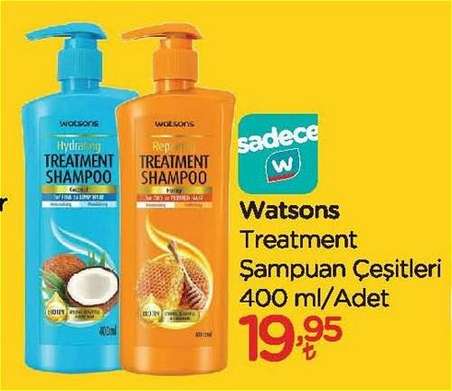 Watsons Treatment Şampuan Çeşitleri 400 ml image