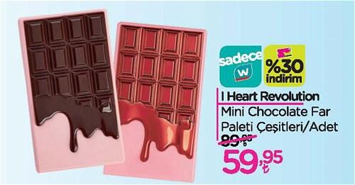 I Heart Revolution Mini Chocolate Far paleti Çeşitleri/Adet image