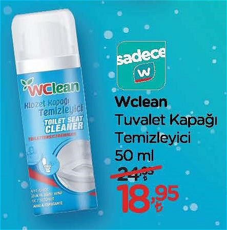 Wclean Tuvalet Kapağı Temizleyici 50 ml image