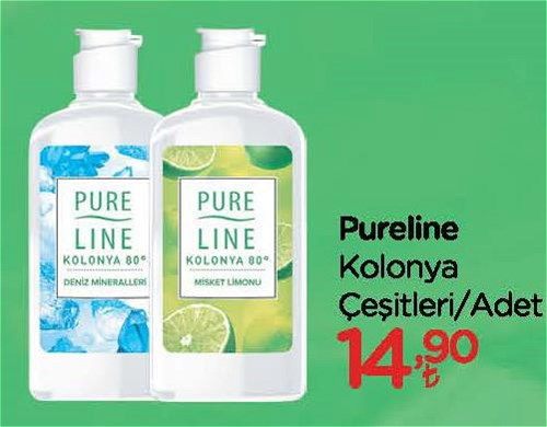 Pureline Kolonya Çeşitleri/Adet image