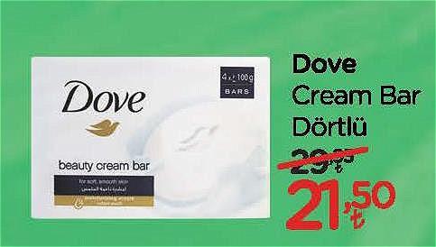 Dove Cream Bar Dörtlü image