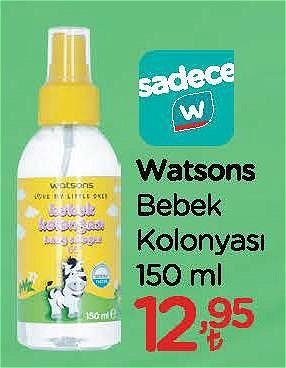 Watsons Bebek Kolonyası 150 ml image
