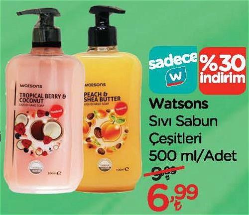 Watsons Sıvı Sabun Çeşitleri 500 ml image