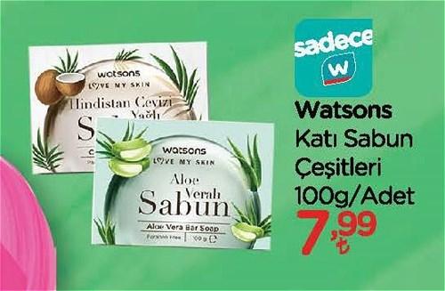 Watsons Katı Sabun Çeşitleri 100 g image