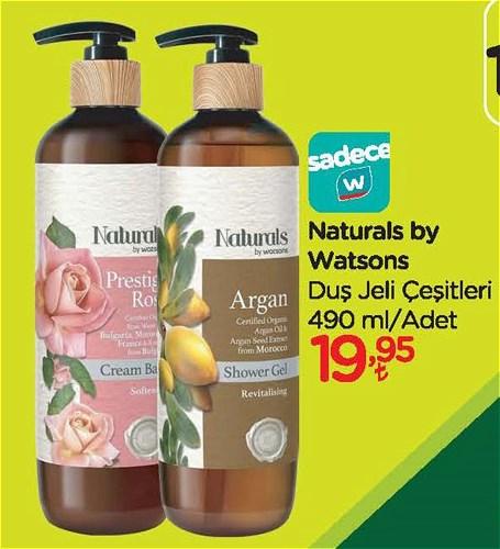 Naturals by Watsons Duş Jeli Çeşitleri 490 ml image