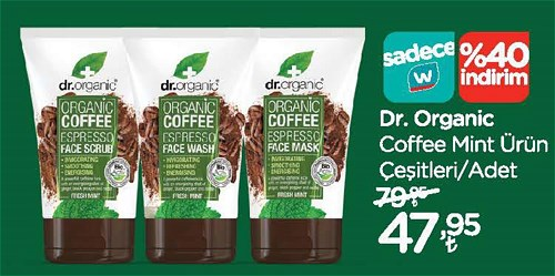Dr.Organic Coffee Mint Ürün Çeşitleri/Adet image