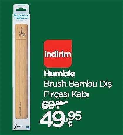 Humble Brush Bambu Diş Fırçası Kabı image