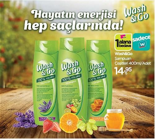 Wash&Go Şampuan Çeşitleri 400 ml image
