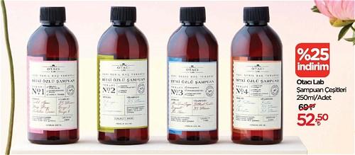 Otacı Lab Şampuan Çeşitleri 250 ml image