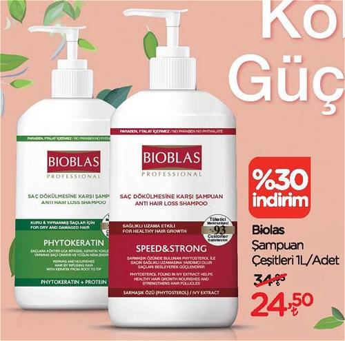 Bioblas Şampuan Çeşitleri 1 l image