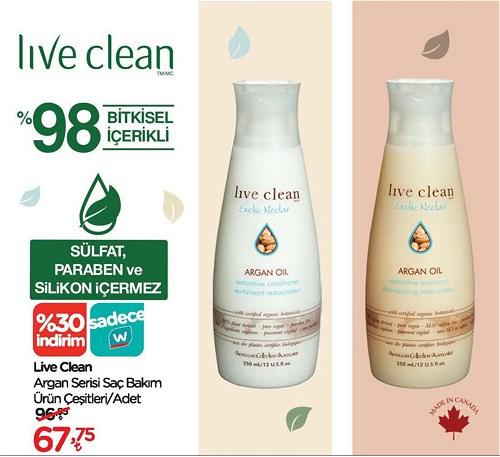 Live Clean Argan Serisi Saç Bakım Ürün Çeşitleri/Adet image