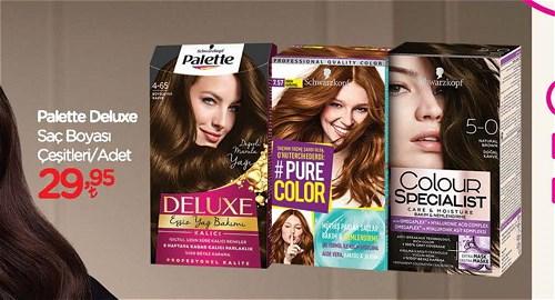 Schwarzkopf Palette Deluxe Saç Boyası Çeşitleri/Adet image