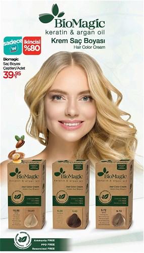 Biomagic Saç Boyası Çeşitleri/Adet image