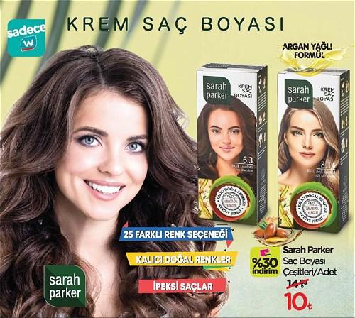 Sarah Parker Saç Boyası Çeşitleri/Adet image