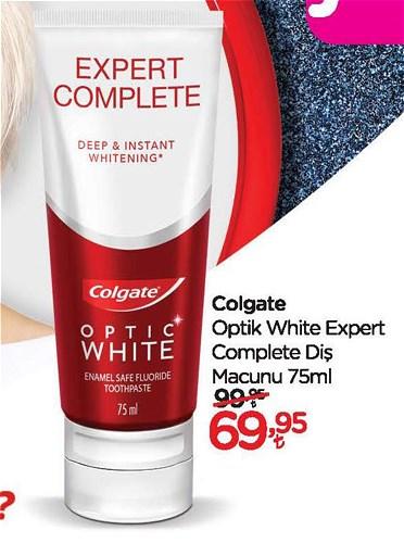 Colgate Optik White Expert Complete Diş Macunu 75 ml image