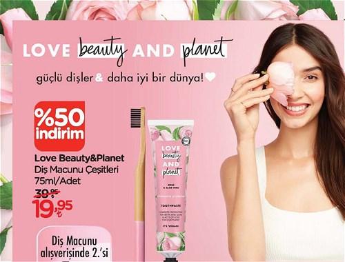 Love Beauty&Planet Diş Macunu Çeşitleri 75 ml image