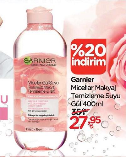 Garnier Micellar Makyaj Temizleme Suyu Gül 400 ml image
