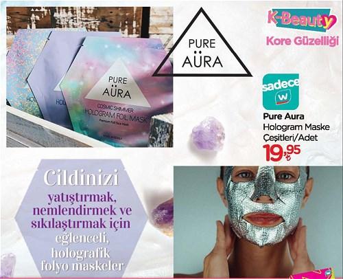 Pure Aura Hologram Maske Çeşitleri/Adet image