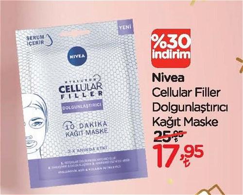 Nivea Cellular Filler Dolgunlaştırıcı Kağıt Maske image