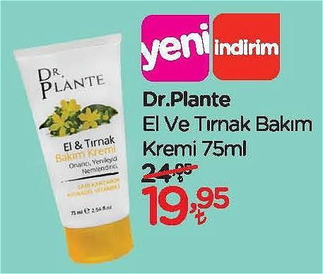 Dr. Plante El ve Tırnak Bakım Kremi 75 ml image