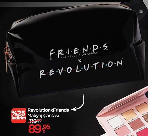 RevolutionxFriends Makyaj Çantası image