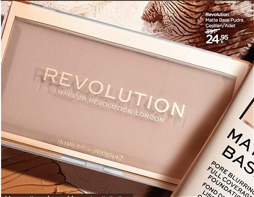 Revolution Matte Base Pudra Çeşitleri/Adet image