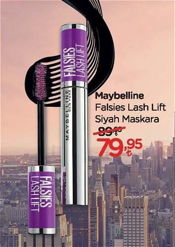 Maybelline Falsies Lash Lift Siyah Maskara image
