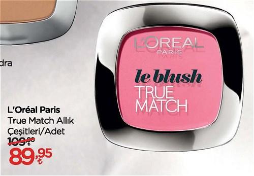 Loreal Paris True Match Allık Çeşitleri/Adet image