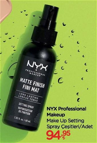 NYX Professional Makeup Make Up Setting Spray Çeşitleri/Adet image