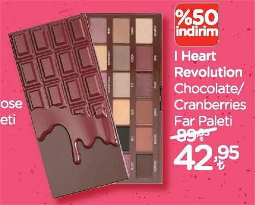 I Heart Revolution Chocolate/Cranberries Far Paleti image
