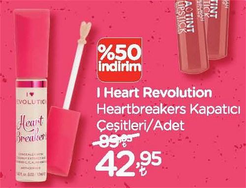 I Heart Revolution Heartbreakers Kapatıcı Çeşitleri/Adet image