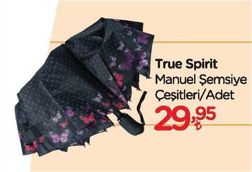 True Spirit Manuel Şemsiye Çeşitleri/Adet image