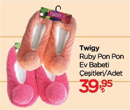 Twigy Ruby Pon Pon Ev Babeti Çeşitleri/Adet image