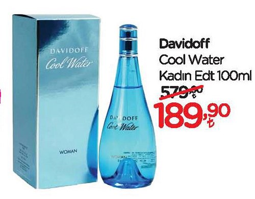 Davidoff Cool Water Kadın Edt 100 ml image