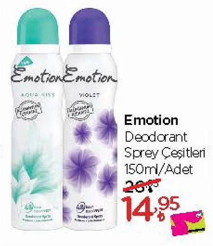 Emotion Deodorant Sprey Çeşitleri 150 ml image