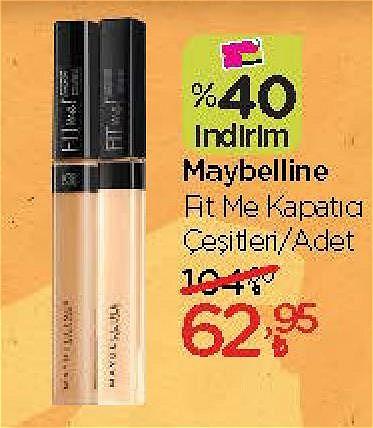 Maybelline Fit Me Kapatıcı Çeşitleri/Adet image