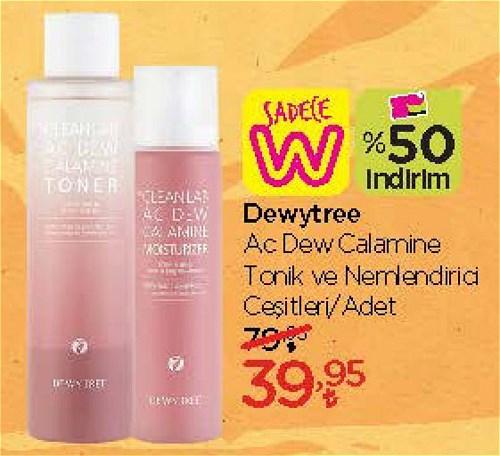 Dewytree Ac Dew Clamine Tonik ve Nemlendirici Çeşitleri/Adet image