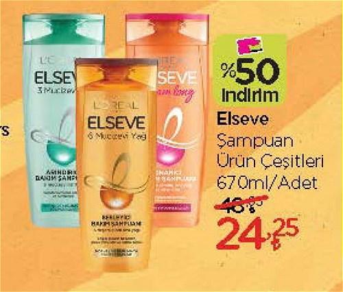 Elseve Şampuan Çeşitleri 670 ml image